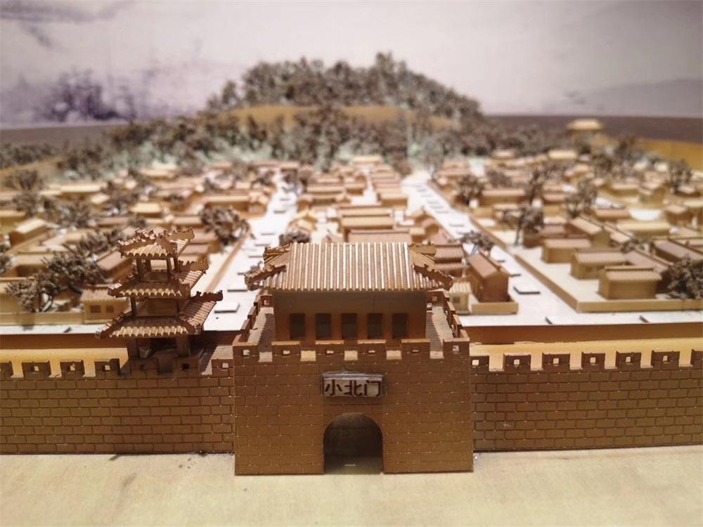 古城复原模拟