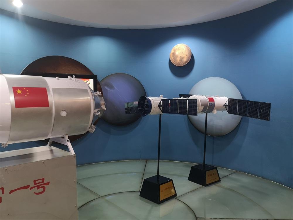 航天发射场景