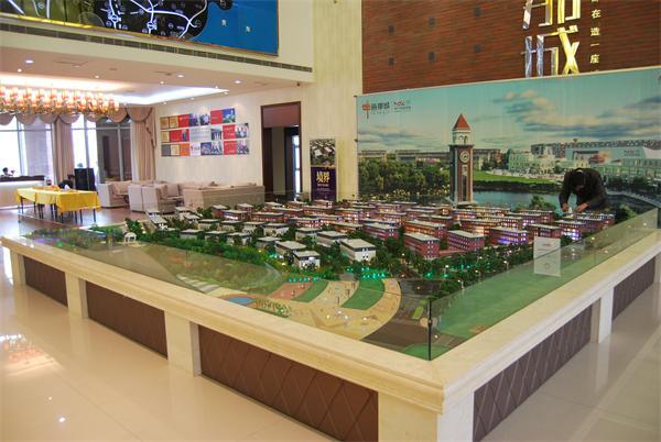 聊城模型公司对城市规划模型的设计理念!
